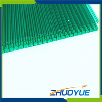 super clear skylight plastic roofing honeycomb sheet