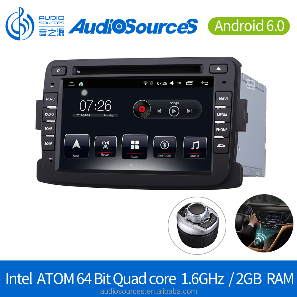 Android 6.0.1 touch screen car dvd player for Renault Duster/Sandero/L ogan 2010-2017 with BT SD GPS GLONASS CAR PALY FUNCTION