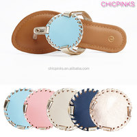 Wholesale Monogram Disc Sandals Shoes Kid