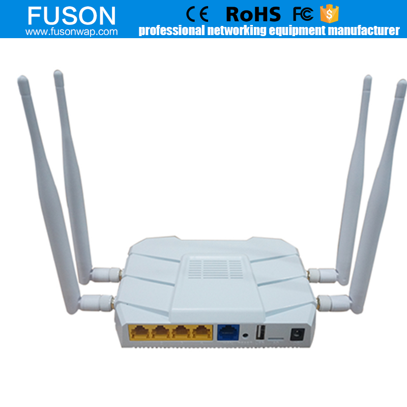 Wirwave 1200 Mbps Dual-Band Broadband Wifi Router