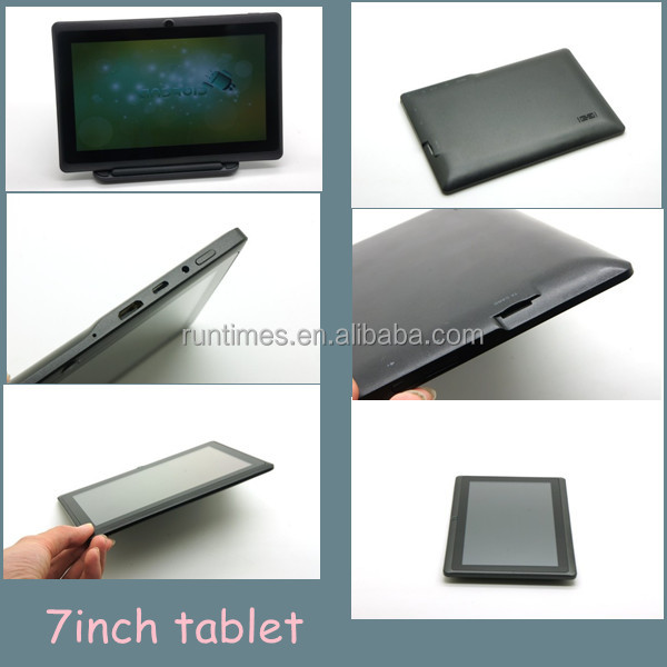 A13 7inch Two Camera Tablet PC Support Brand Your Own Android Tablet