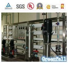 Jiangmen Greenfall 5T PER HOUR Drinking water purification plant, underground water filter system water treatment equipment