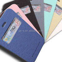 Mercury Goospery Wow Bumper View pu leather case for samsung galaxy note3 n9005