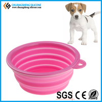 FDA grade silicone pet bowl, dog favourite accessory, food container