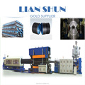 PE double wall corrugated pipe making machine/extrusion line(200-800mm)