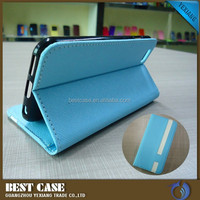 hot new product for 2015 flip stand leather smart case for iphone 6