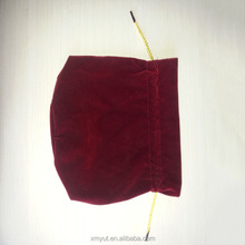 custom Drawstring bag velvet bag wine bag