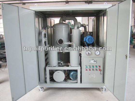 Two Stage Vacuum Oil Purifier/Mobile Transformer Oil Treater/Waste Oil Recuperation Plant