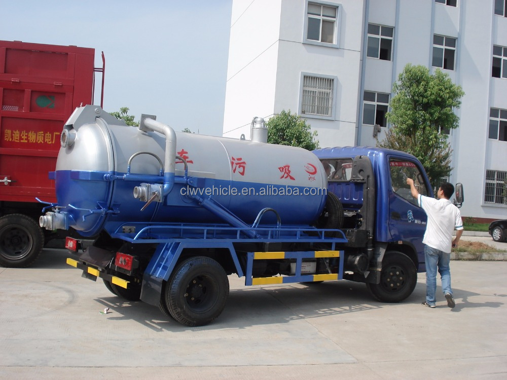 Dongfeng 6x4 sewage suction truck for 20CBM tanker