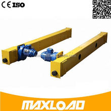 Electromagnet For Steel Plant Worshop Light Duty Crane End Carriage Beam Double-Girder Overhead Crane
