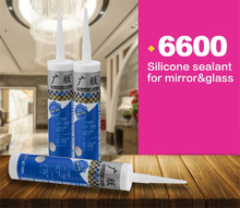 Permanently flexible premium mirror silicone sealant
