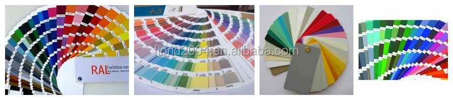 Luminous Colors Florid thermosetting powder coating paints for car parts spray paint