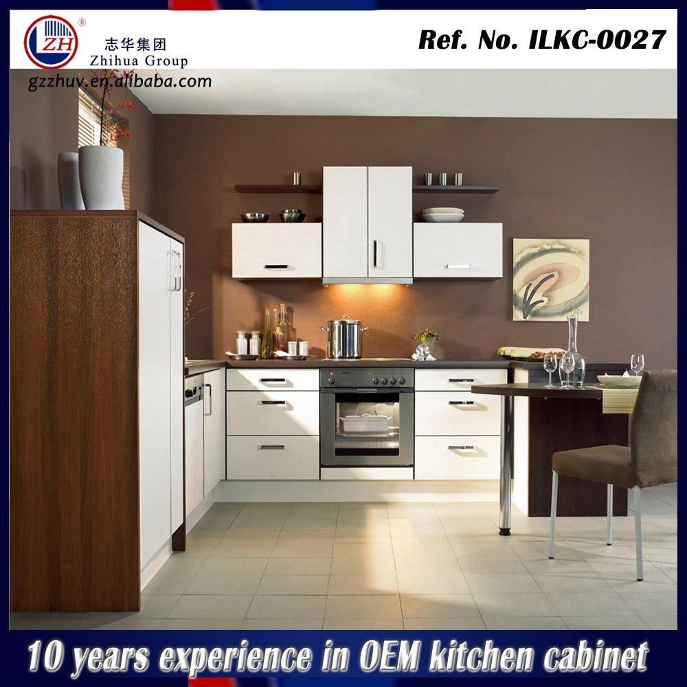 Modern high gloss kitchen cabinet laminated kitchen for Kitchen cabinets 700mm high
