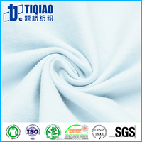 Eco friendly supply organic cotton fabric for children cloth wholesale