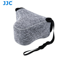 JJC Soft Neoprene Waterproof Mirrorless Camera Pouch Case Bag for Fujifilm X-M1 X-T10 X-T20 X-A2 for Sony A6500 A6300 A6000 etc