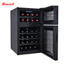 24 Bottles Low Noise Dual Zone Thermoelectric Wine Cooler