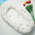 New design Baby Lounger Wholesale Toddler 100% Cotton Baby Sleeping Nest