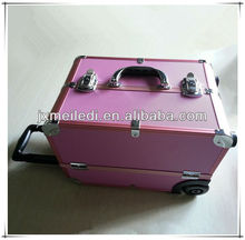 MLD-1425 POPULAR! manufacturing vanity case trolley makeup chest