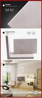 cement wall board better than gypsum board partition