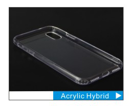 Factory Private Mould Slim Grip Anti-Shock TPU TPE Armor Case For Iphone X