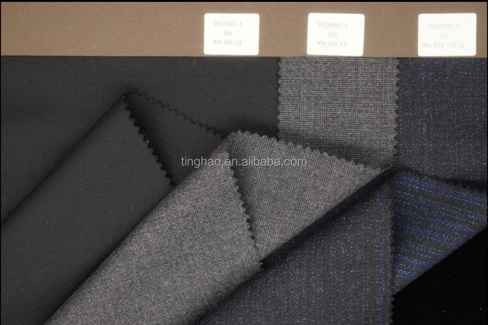 Hot sales worsted wool suiting fabric wholesale