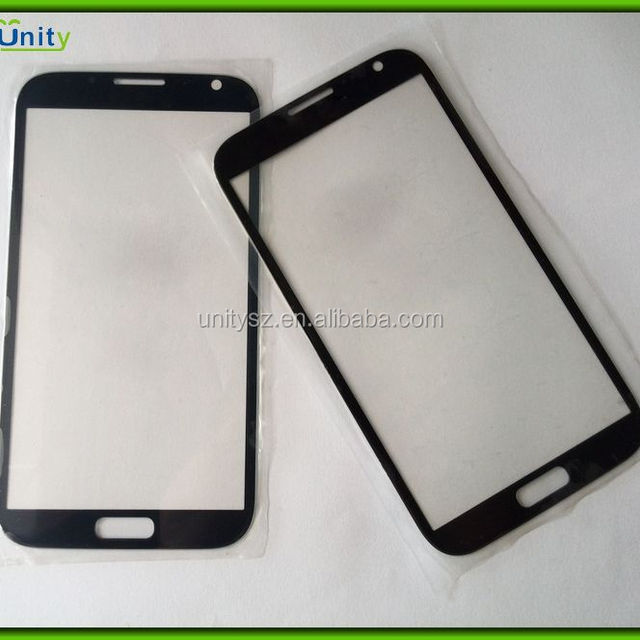 For Samsung Galaxy Note 2 II n7100 front glass replacement