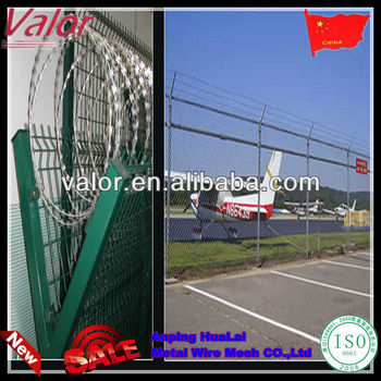 Y type razor barbed wire airport fence