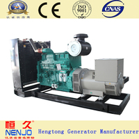 NT855-GA engine 250KVA/200KW self running diesel generator working principle with aisikai ats(18KW~1500KW)