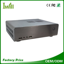 Iwill HT70 mini itx case HTPC support 2*USB2.0 home theater pc case