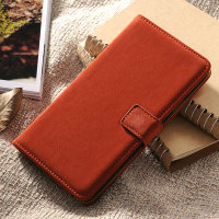 Best Leather Mobile Double Phone Case Cover Bag for Samsung Galaxy Note 3 III Cell Phone
