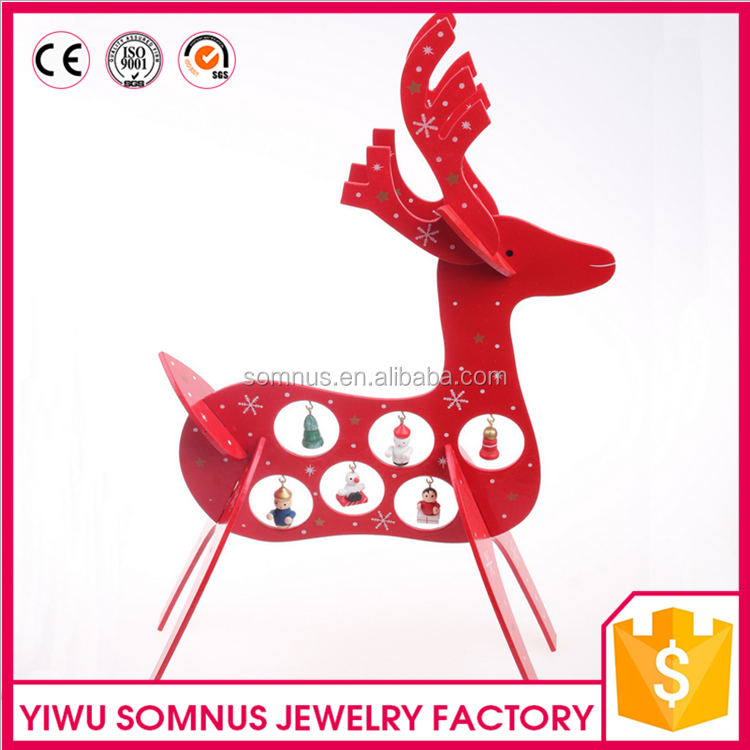 Unique Deer Home Christmas Wooden Decoration Products For Sale