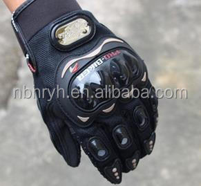 Pro biker Motorbike Carbon Fiber Racing Gloves