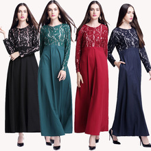 Elegant muslim long dress abaya dress wholesale dubai abaya