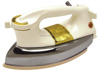 3530 pressing iron heavy weight home use 1000W plastic housing non-stick soleplate electric dry iron