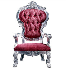 Antique Royal king size high back throne chair XYN2978