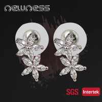 Fashion Earring Jewelry Crystal Earring Designs