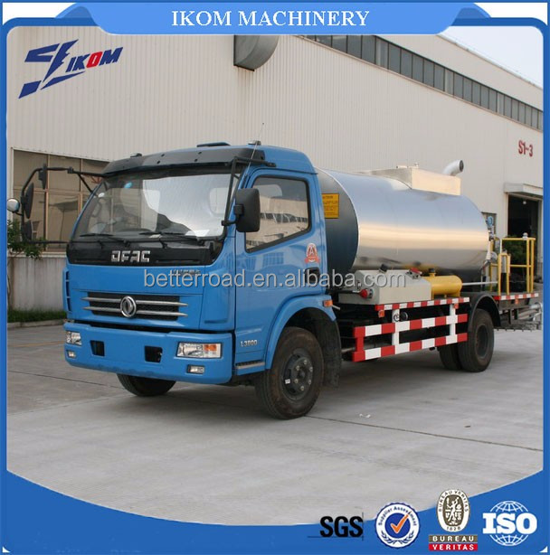 bitumen emulsion spraying truck