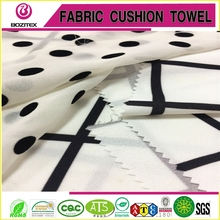 Fashionable design dress fabric printed silk chiffon fabric