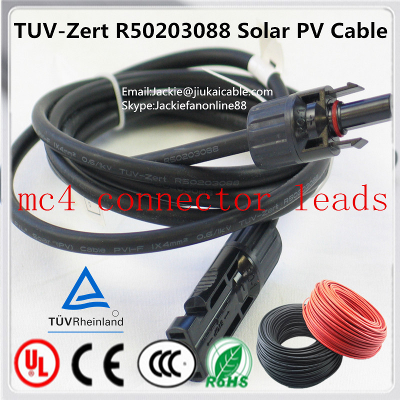 2014 Australia/Japan Hot-Selling solar pv connector cable tata solar