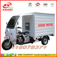 KAVAKI MOTOR CG250 closed cabin three wheel motorcycle
