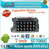 ANDROID 4.4 CAR DVD PLAYER FOR SSANGYONG ACTYON SPORTS 2005-2013 WITH QUAD CORE HD1024*600