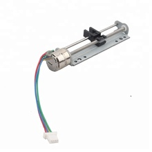 vsm10198 10mm micro slider linear stepping motor screw motor with bracket stepper motor