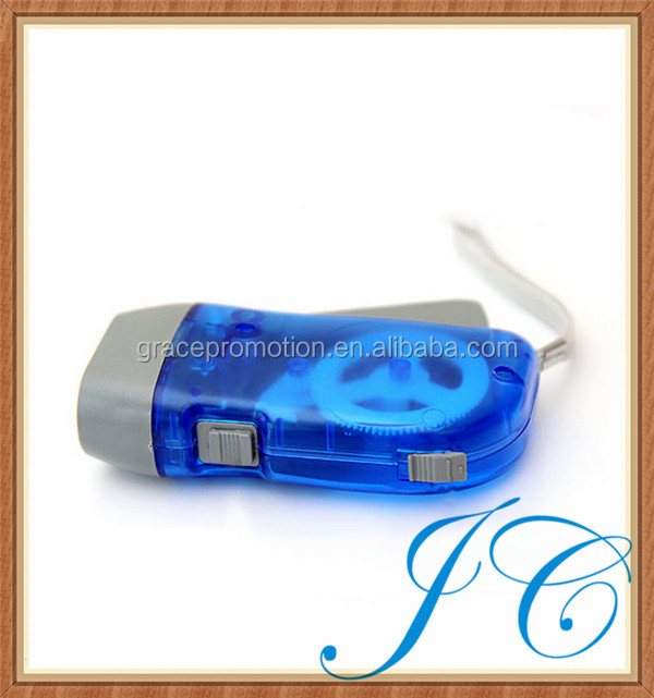 Most fashionable hand crank easy portable emergency light