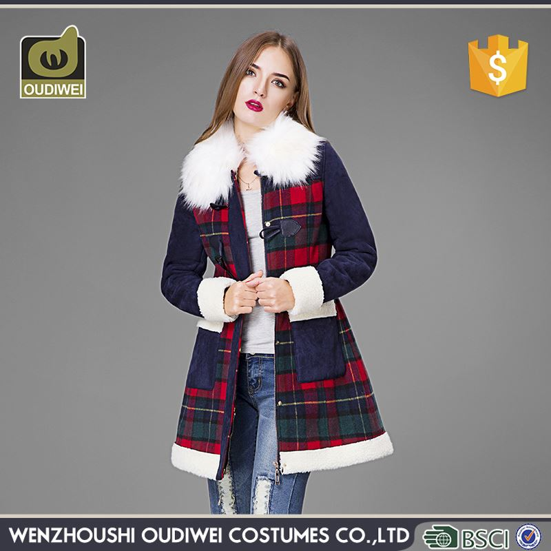 Top sale high quality slinky women's cotton-padded coat