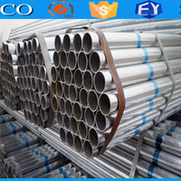 FACO Steel Group pre galvanized pipe/tube large diameter waste water line tube