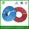 Plastic rubber corrugated reinforced wall mounted hose pipe