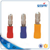 MPD cold pressed bullet shaped male pre-insulating joint/terminal connector