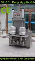 automatic beer keg washer