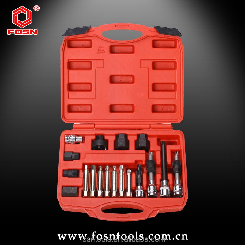 18pcs Alternator Freewheel Pulley Removal/Engine Tool Set