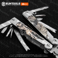 Multi-purpose camo color Folding pliers crimping Combination pliers